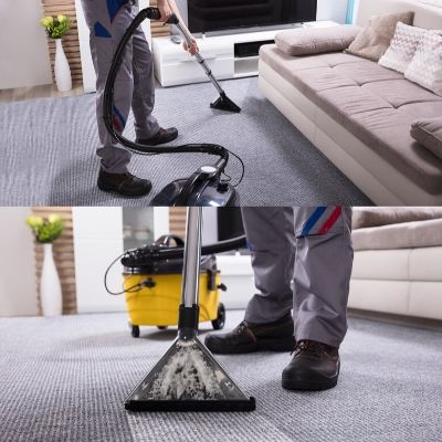 carpet drying with vacuum