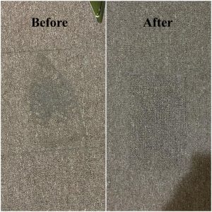carpet repair done in Melbourne removing iron marks